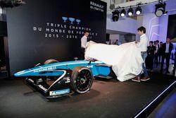 Sebastien Buemi and Nicolas Prost, Renault eDAMS