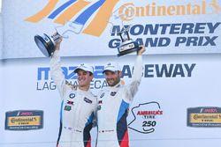 GTLM podio: ganadores John Edwards, Martin Tomczyk, BMW Team RLL