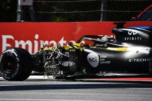 Equipment mounted on the car of Daniel Ricciardo, Renault F1 Team R.S.20