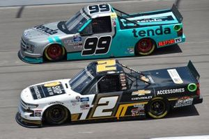 Sheldon Creed, GMS Racing, Chevy Accessories Chevrolet Silverado, Ben Rhodes, ThorSport Racing, Tenda Heal Ford F-150