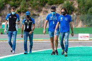 #47 CETILAR RACING - Dallara P217 - Gibson: Roberto Lacorte, Andrea Belicchi, Giorgio Sernagiotto