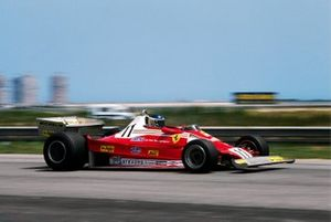 Carlos Reutemann, Ferrari 312T2 won his first race with Ferrari and claimed the first victory for tyre manufacturer Michelin