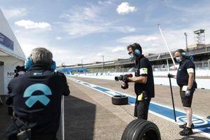NIO Formula E Team in pit lane
