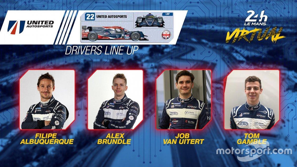 #22 United Autosports - Oreca 07 LMP2