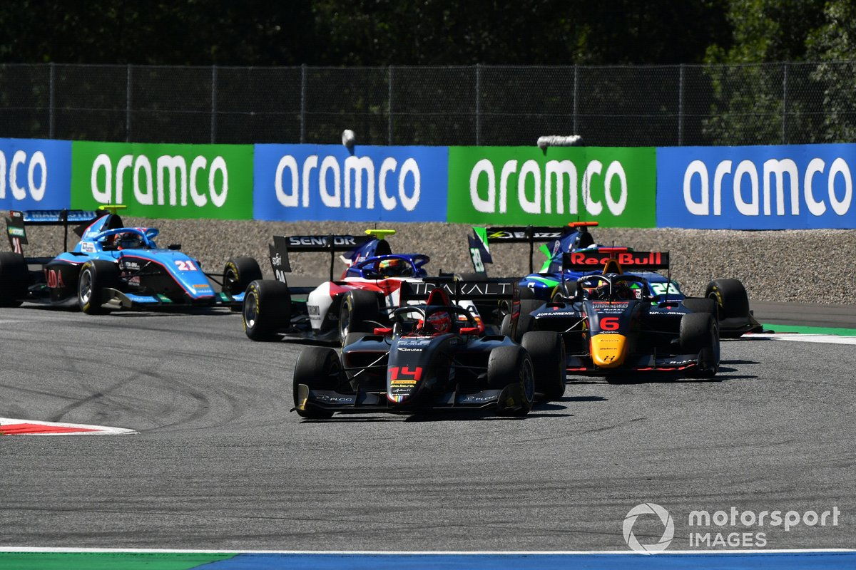 Enzo Fittipaldi, HWA Racelab, Dennis Hauger, Hitech Grand Prix, Cameron Das, Carlin, Igor Fraga, Charouz Racing System
