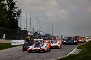 Start zum IMSA SportsCar Weekend in Elkhart Lake 2020: #7 Acura Team Penske Acura DPi, DPi: Helio Castroneves, Ricky Taylor, führt