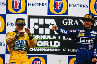 Alain Prost, Williams, Michael Schumacher, Benetton