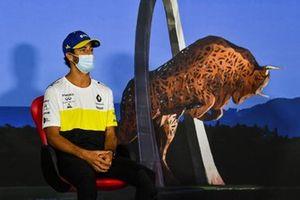 Daniel Ricciardo, Renault F1 Team durante la conferenza stampa