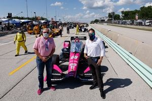 James Meyer and Michael Shank Jack Harvey, Meyer Shank Racing Honda