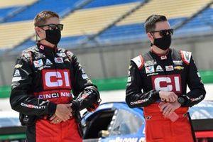 Alex Bowman, Hendrick Motorsports, Chevrolet Camaro Cincinnati, crew chief Greg Ives