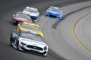 Ryan Newman, Roush Fenway Racing, Ford Mustang, Michael McDowell, Front Row Motorsports, Ford Mustang Love's Travel Stops