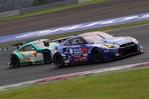 #56 Kondo Racing Nissan GT-R: Kiyoto Fujinami, Joao Paulo de Oliveira, #52 Saitama Toyopet Green Brave Toyota GR Supra: Hiroki Yoshida, Kohta Kawaai