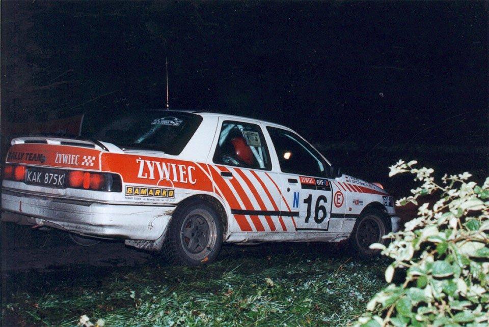 Robert Gryczyński, Tomasz Ryborz, Ford Sierra RS Cosworth 4x4