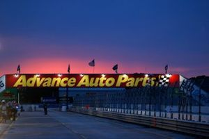 Sonnenuntergang am Sebring International Raceway