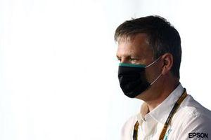 James Allison, directeur technique, Mercedes AMG, lors de la conférence de presse des directeurs d'écuries