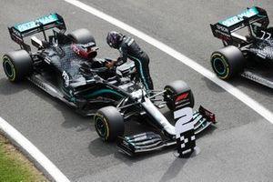 Segundo puesto de Lewis Hamilton, Mercedes F1 W11