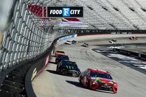 Kyle Busch, Joe Gibbs Racing Toyota Cmary, Kurt Busch, Chip Ganassi Racing, Chevrolet Camaro