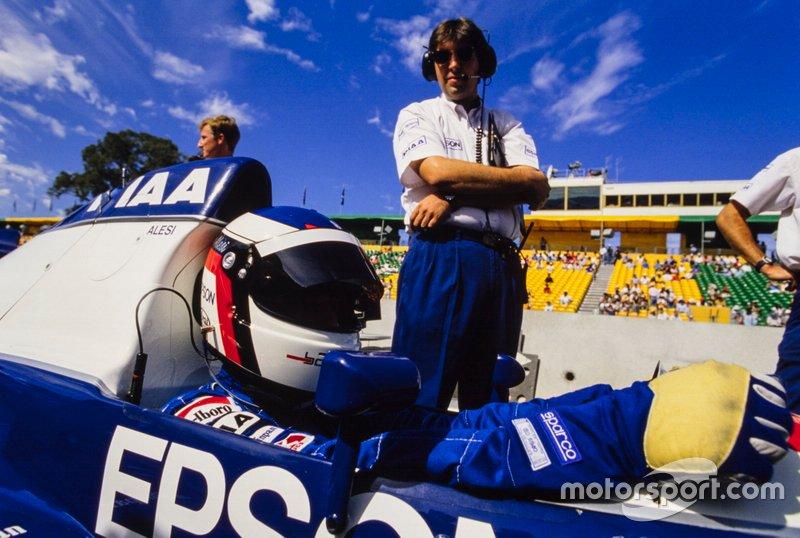 Jean Alesi, Tyrrell 019 Ford, GP d'Australia del 1990
