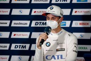 Press Conference, Jonathan Aberdein, BMW Team RBM