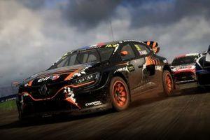 Renault Megane RSRX18 action