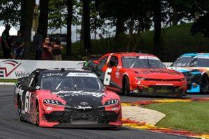 Stephen Leicht, Hattori Racing Enterprises, Toyota Camry JANIKING, Jade Buford, JD Motorsports, Chevrolet Camaro Big Machine Hand Sanitizer