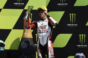 Podium: third place Ai Ogura, Honda Team Asia