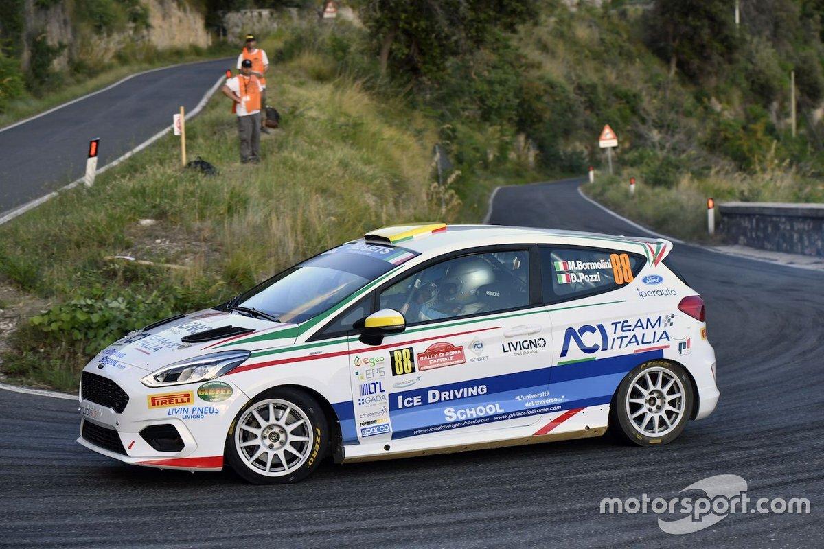 Michele Bormolini, Daniel Pozzi, Ford Fiesta Rally4