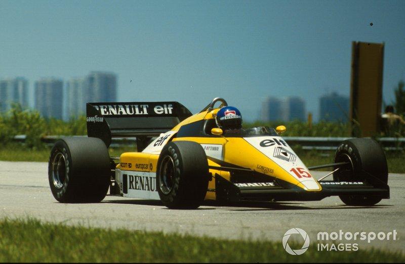 Patrick Tambay, Renault RE50
