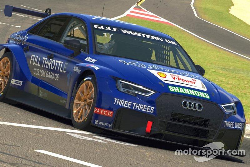 Team Johnson's virtual TCR car