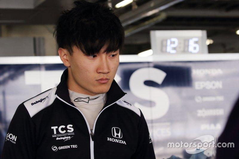 Tadasuke Makino, TCS NAKAJIMA RACING