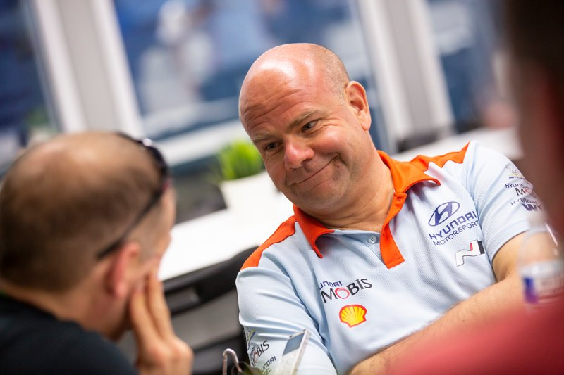 Руководитель команды Hyundai Motorsport Андреа Адамо