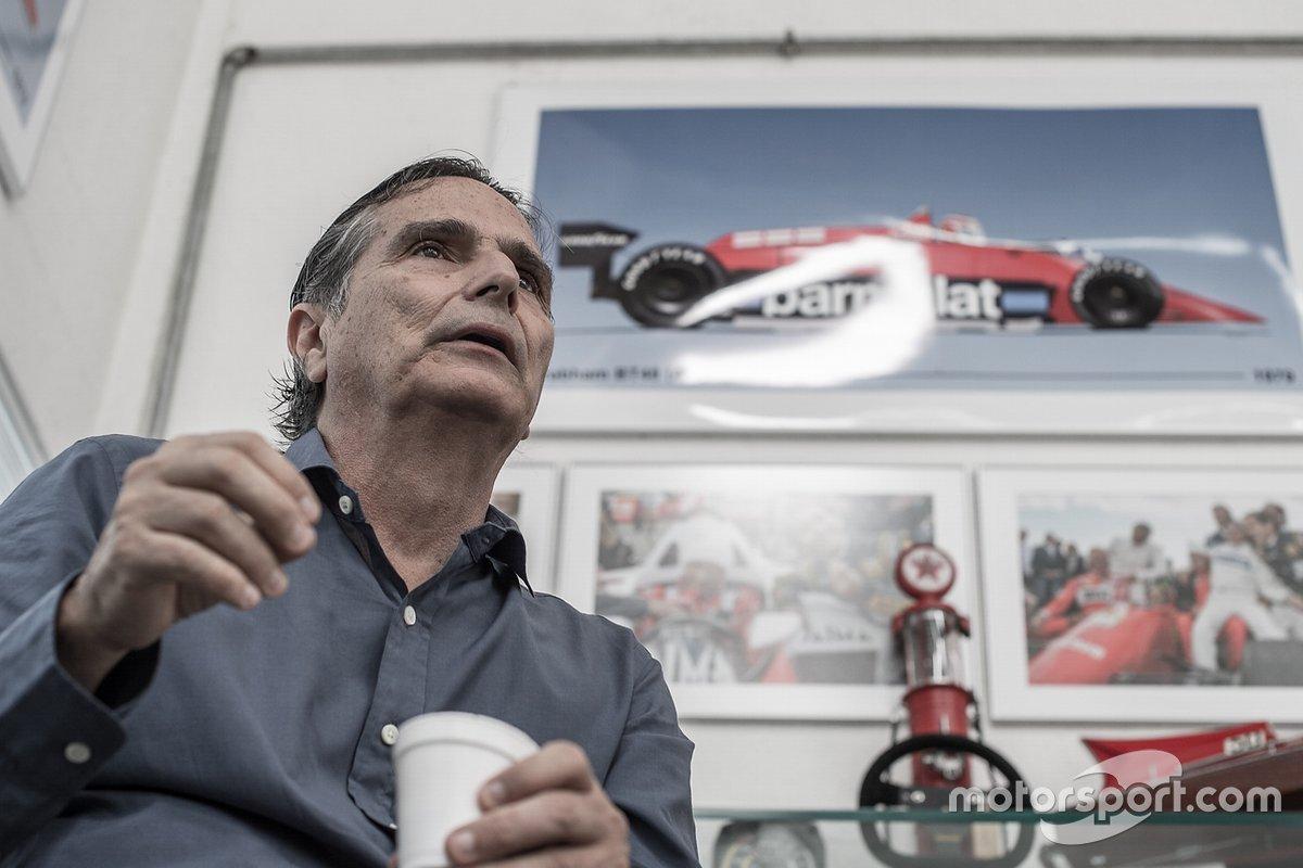 Nelson Piquet no detalhe