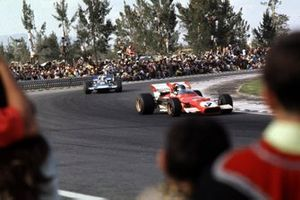 Jacky Ickx, Ferrari 312B, Jackie Stewart, Tyrrell 001