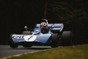 Francois Cevert, Tyrrell 002 Ford, during practice
