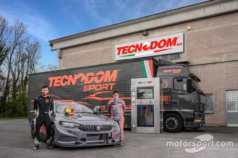 Jonathan Giacon, Kevin Giacon, Tecnodom Sport, Fiat Tipo TCR