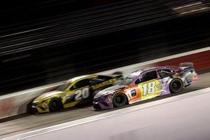 Erik Jones, Joe Gibbs Racing, Toyota Camry, Kyle Busch, Joe Gibbs Racing, Toyota Camry