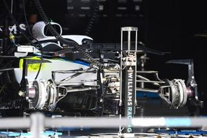 Williams front suspension and brake detail