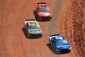 Ricky Stenhouse Jr., JTG Daugherty Racing, Chevrolet Camaro Kroger, Ryan Preece, JTG Daugherty Racing, Chevrolet Camaro BUSH'S Beans/Kroger, Bubba Wallace, 23XI Racing, Toyota Camry DoorDash