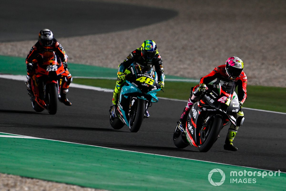 Aleix Espargaro, Aprilia Racing Team Gresini, Valentino Rossi, Petronas Yamaha SRT