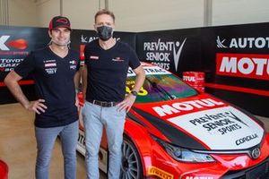 Nelsinho Piquet e Guillaume Pailleret - CEO Motul Brasil e VP Américas