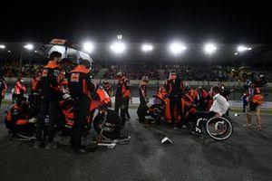 Iker Lecuona, KTM Tech3, Danilo Petrucci, KTM Tech3
