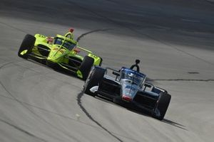 Ed Carpenter, Ed Carpenter Racing Chevrolet, Simon Pagenaud, Team Penske Chevrolet