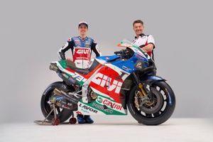 Alex Marquez, Team LCR Honda, mit Lucio Cecchinello