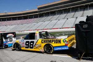 Grant Enfinger, ThorSport Racing, Toyota Tundra