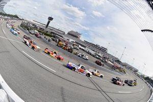 Raphael Lessard, GMS Racing, Chevrolet Silverado CANAC and Zane Smith, GMS Racing, Chevrolet Silverado