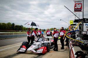 Takuma Sato, Rahal Letterman Lanigan Racing Honda, crew members