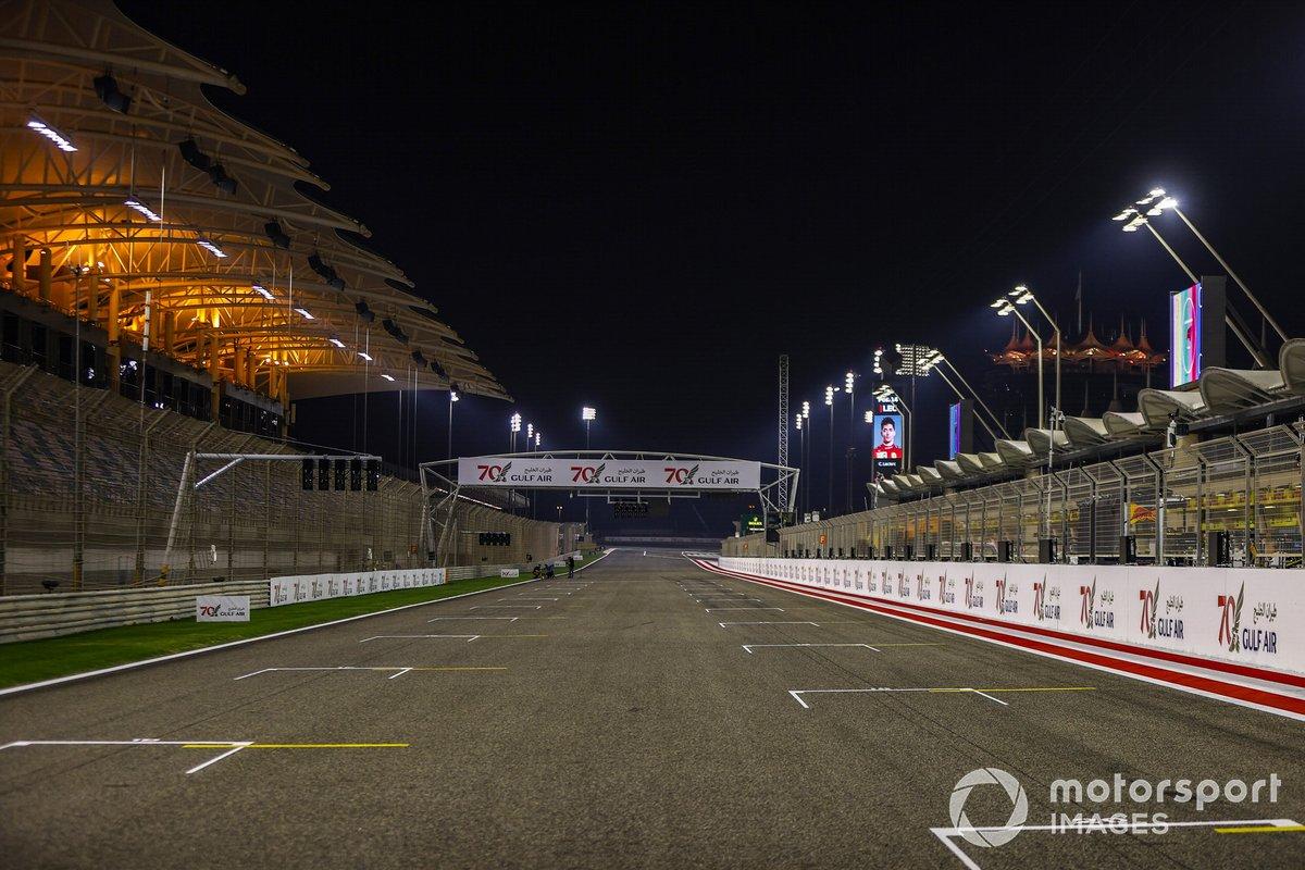 Aspecto del circuito de Bahrein