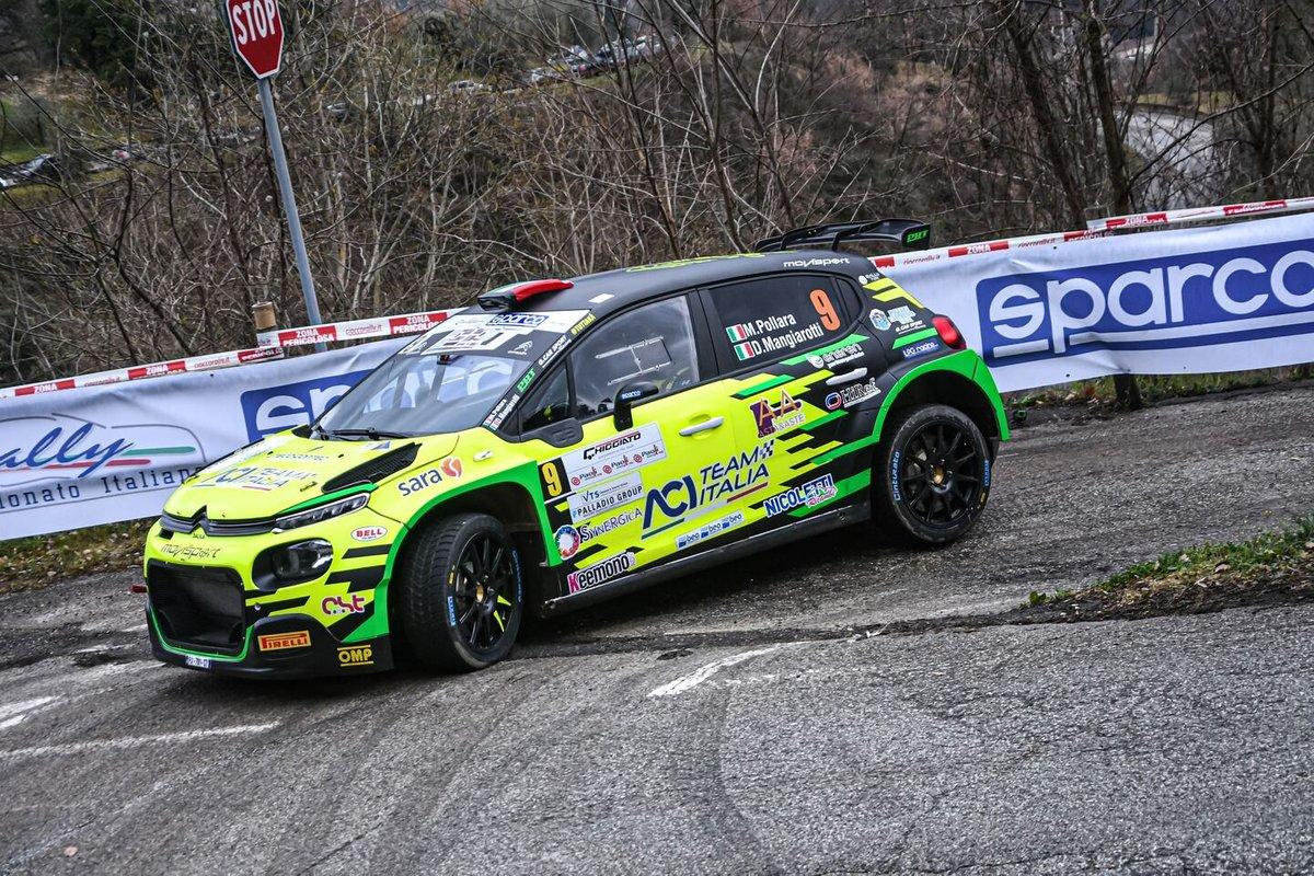 Marco Pollara, Daniele Mangiarotti, Movisport, Citroen C3 R5