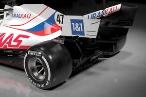 Haas VF-21 rear detail