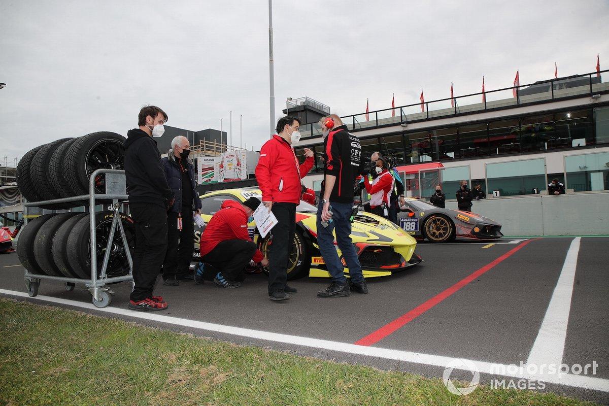 La griglia di partenza di Gara 1 della Coppa Shell
